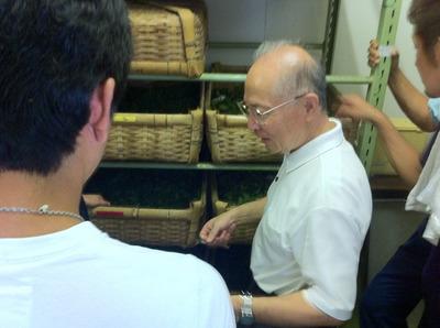 紅茶製造研修会 at 茶業研究センター